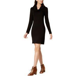 Maison Jules Cowl-Neck Fit & Flare Dress
